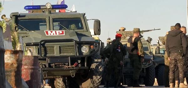 Впервые российские военные помогли конвою НАТО в Сирии