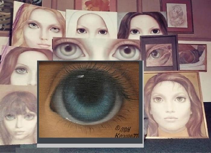 «Большие глаза».Big Eyes.