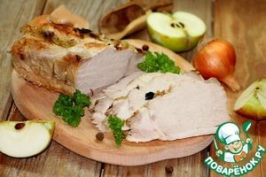 Брассированная свинина на горячее или бутерброд Перец душистый