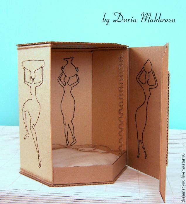 Коробка с двойным дном для фокусов как сделать