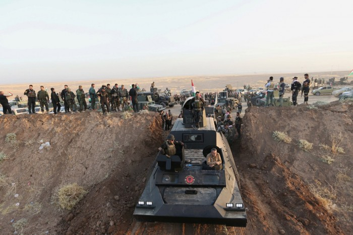 Русское оружие при штурме Мосула