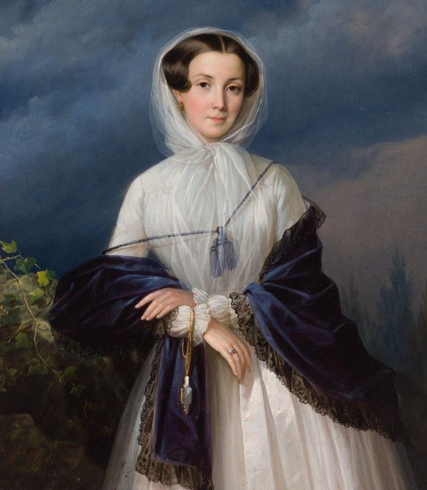 Русский художник Гавриил Иванович Яковлев (1819-1862)