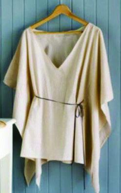 Лёгкие блузы - минимум шитья