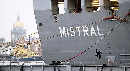 Российскому экипажу закрыли доступ на «Мистраль»