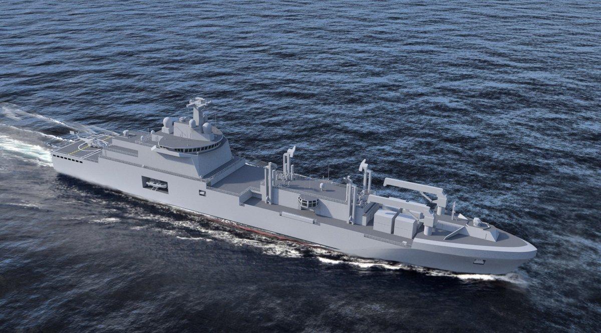 Заказаны четыре корабля комплексного снабжения для французского флота