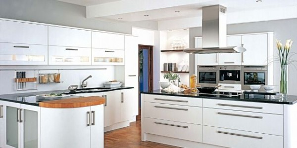 Белые кухни-7