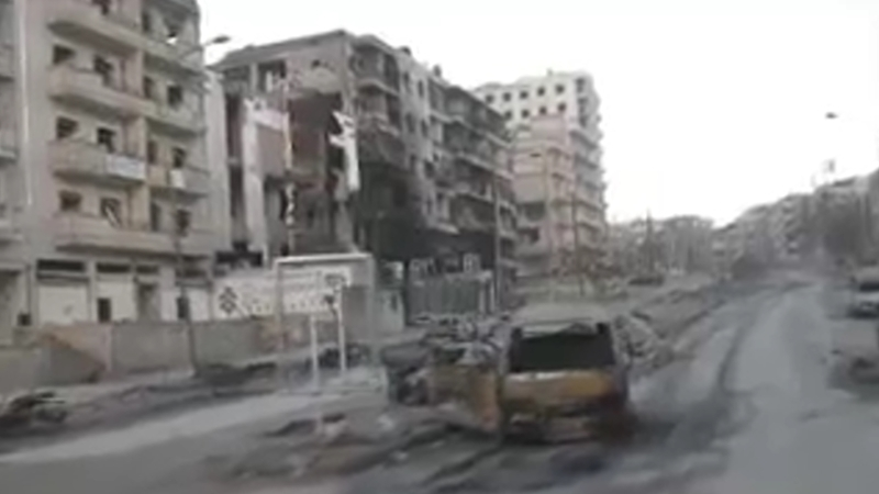 Алеппо: военные из РФ наладили доставку воды в разрушенные районы