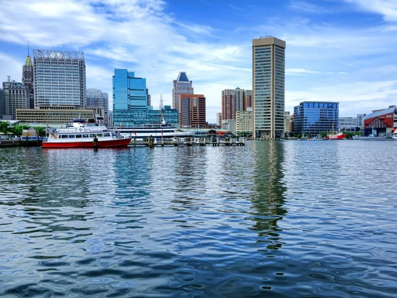 Балтимор, Мэриленд круто, переезд, страны, уезжают