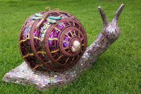 bowling ball snail: