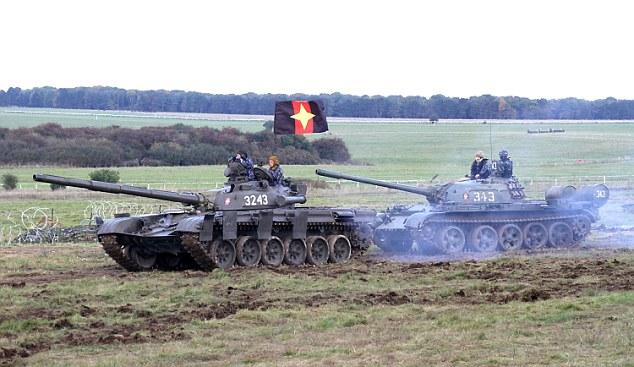 """Британский OPFOR: """"Русские идут!"""""""