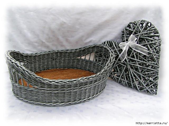 Плетение из газет. Идеи и мастер-класс на донышко плетенки (6) (640x480, 203Kb)