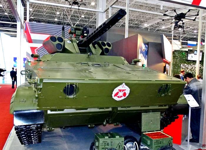 Штучная продукция: боевой модуль «Вихрь» уничтожит любую технику противника