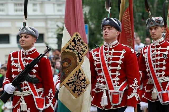 Военный парад в Софии, приур…