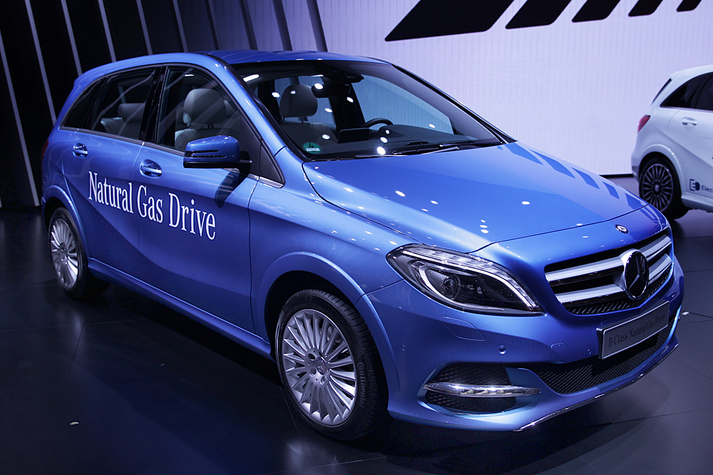 Mercedes показал рестайлинговый B-class