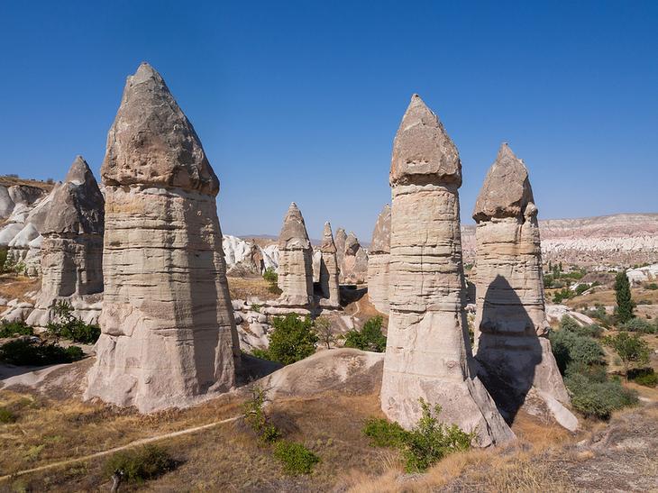 Долина Любви в Каппадокии. Турция. Фото