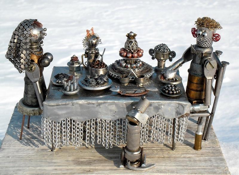 Поделки из металла металл, поделки