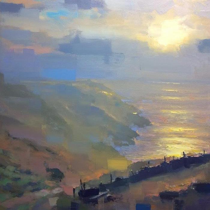 Evening on Cape Cornwall (700x700, 416Kb)
