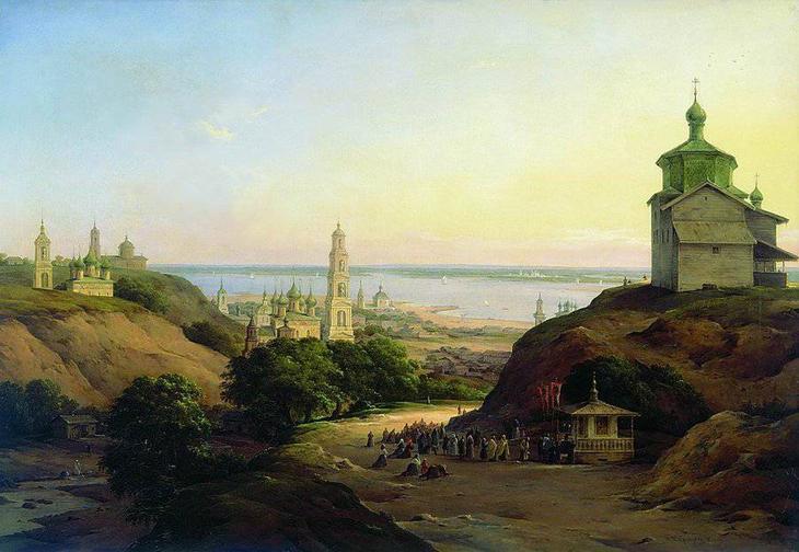 Чернецов Никанор Григорьевич - живописец, художник, акварелист