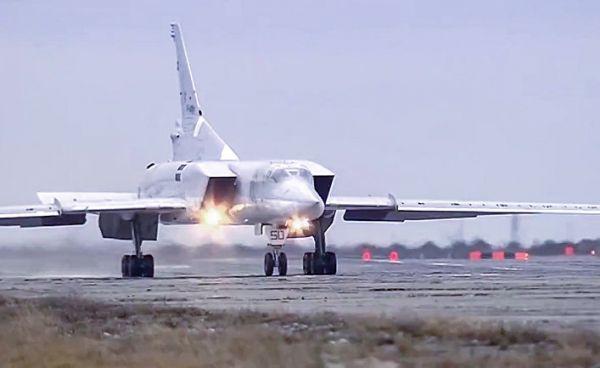 Появилось видео крушения Ту-22М под Мурманском