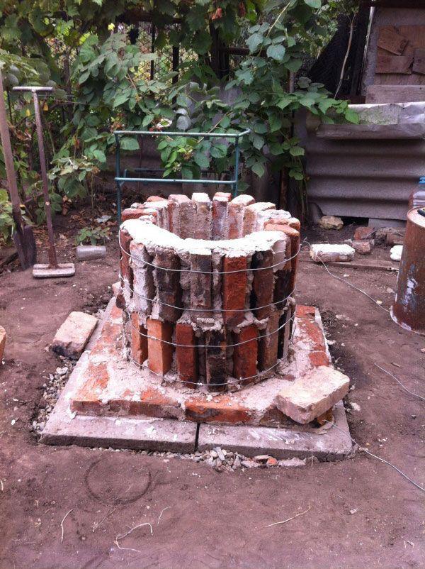 Фотоотчет о строительстве тандыра