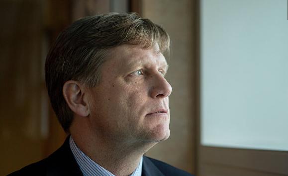Макфол попросил Антонова помочь снять с него российские визовые санкции