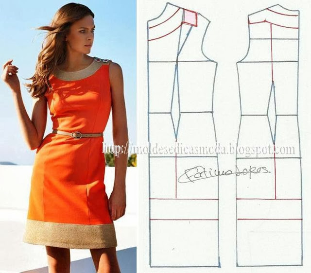 Летнее платье для работы своими руками 66