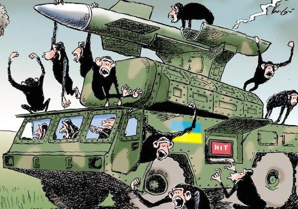 Донецк – обезьяна с гранатой по-киевски