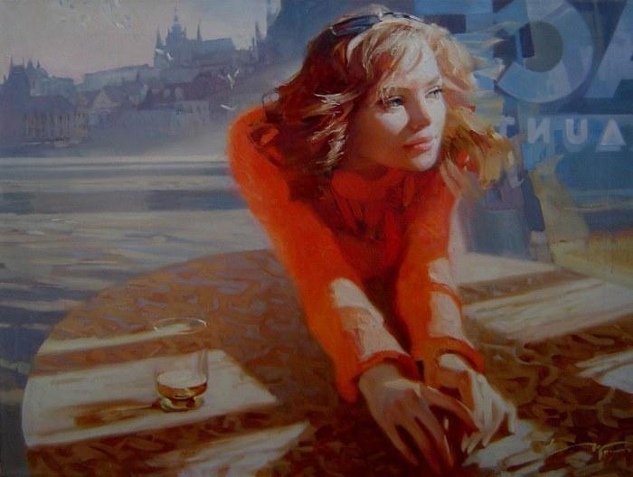Российский художник Алексей Чернигин