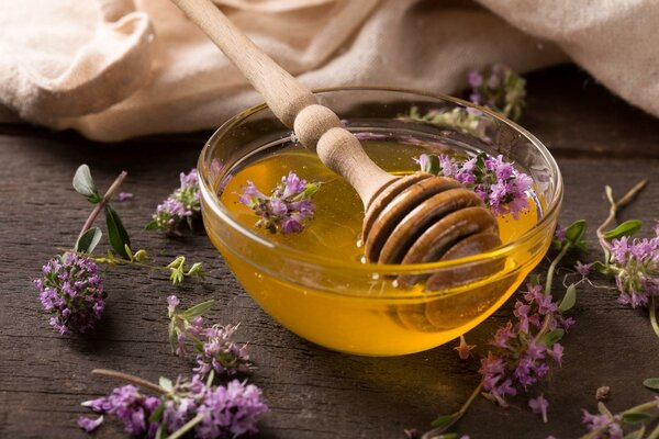 Чабрец с медом