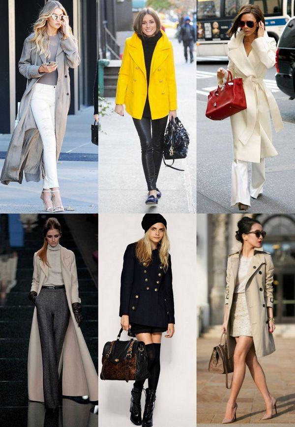 Осенне-зимние пальто: справочник по стилю