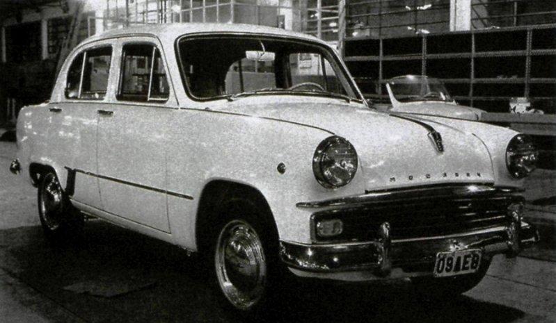 Москвич-407 от Ghia СССР, экспорт