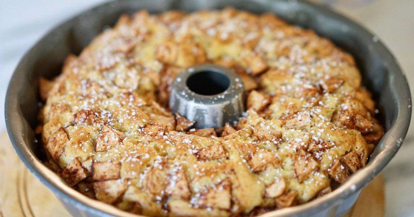 Воздушный «Еврейский пирог»: изумительное переплетение яблочных и ванильных ноток...