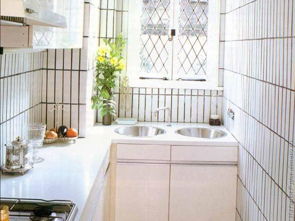 Интерьерные идеи маленькой кухни