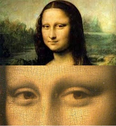 a discussion on the smile of mona lisa