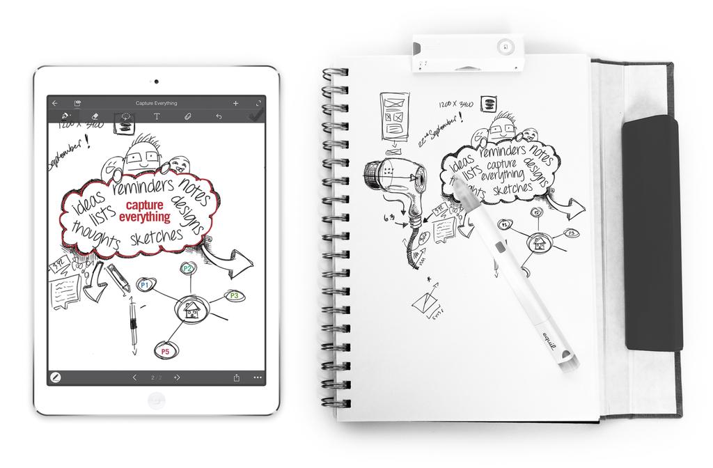 Equils Smartpen 2 Equil Smartpen 2 – цифровая ручка, способная запоминать написанное