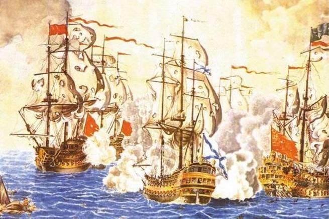 Федор Ушаков против алжирского пирата. Сражение при Калиакрии