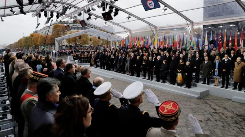 Во Франции почтили память героев Первой Мировой