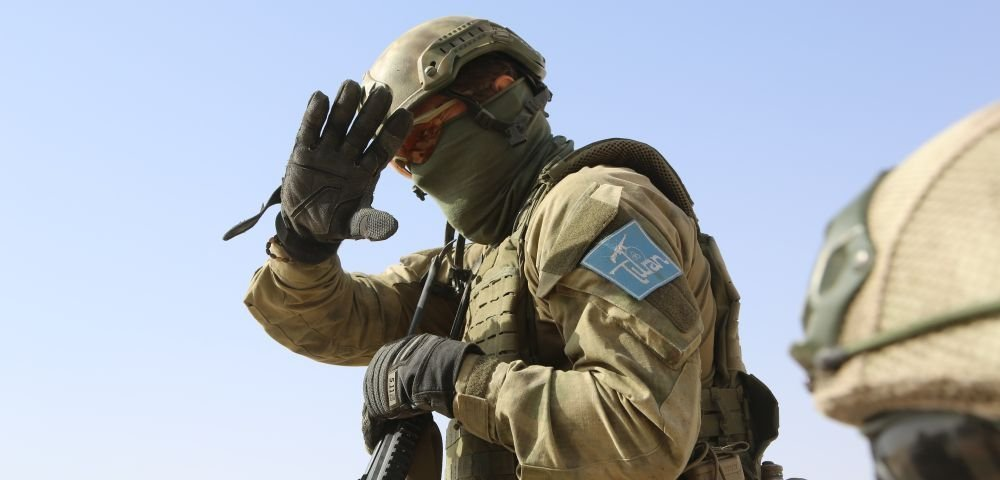 """Отряд """"Туран"""" на защите Сирии"""