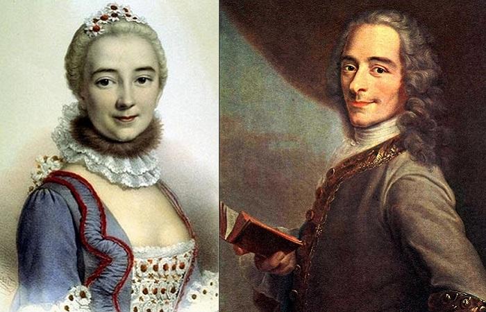 Вольтер и его «божественная» Эмилия: 15 лет «земного рая» с возлюбленной и музой