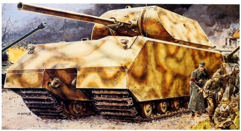 Мышка Вундерваффе, Чудо техника, военная техника Германии, вторая мировая война