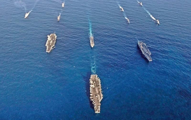 Американская «армада» движется к Корейскому полуострову: эффектные кадры