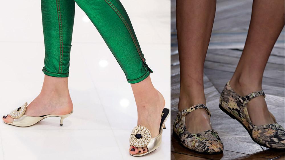 Женская обувь весна-лето 2018 и модные тенденции