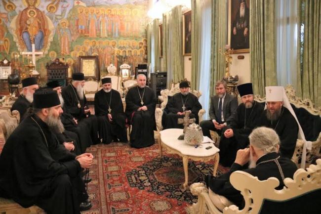 Грузинский патриарх встретил…