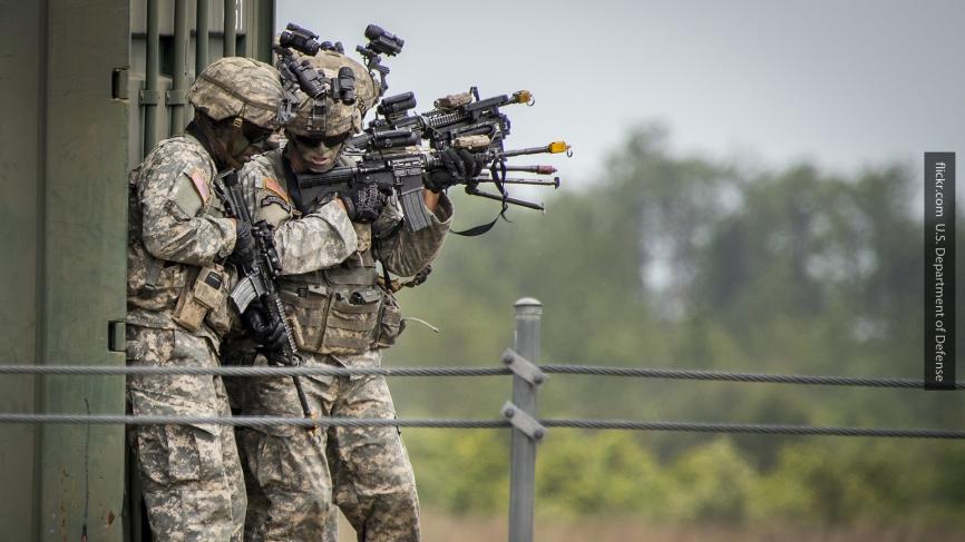 В «бою» с условным противником пострадало 12 десантников США: «Результат удовлетворительный»