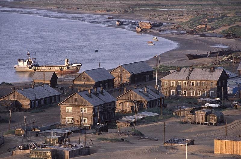 Удивительный рыболовецкий поселок на берегу Белого моря