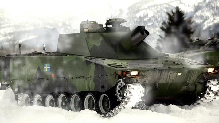 Шведская армия получит самоходные минометы Mjölner
