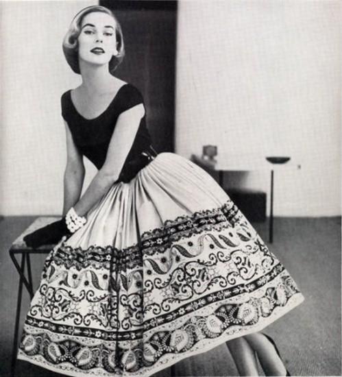 Шьем пышную юбку в очаровательном стиле New look + МК подъюбника для нее
