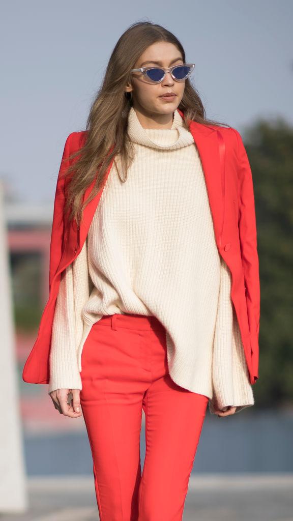 Джиджи Хадид показала самый стильный и элегантный лук грядущей весны
