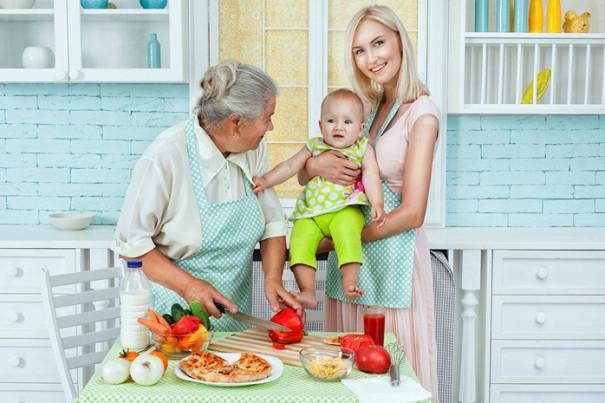 3 очень простых блюда для кормящей мамы