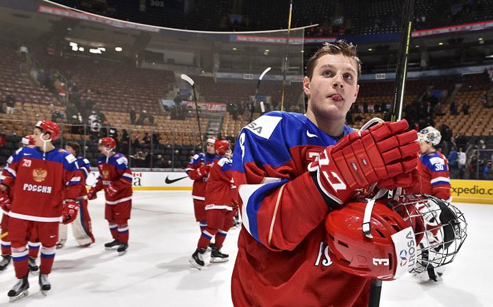 Завершился второй период финала молодежного чемпионата мира по хоккею между сборными россии и финляндии